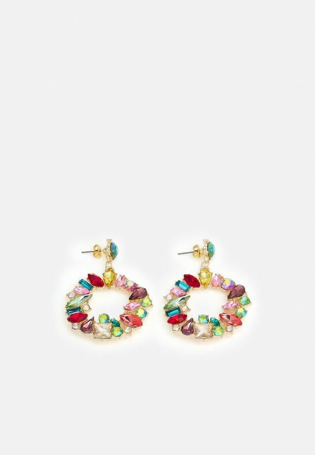 ONLDEMY STONE EARRING - Oorbellen - gold-coloured/multi colour