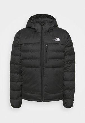 ACONCAGUA HOODIE - Down jacket - black