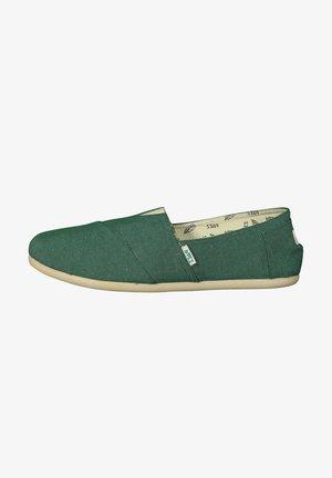 CLASSIC COMBI - Mocasines - dark green