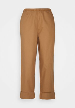 Pyjama bottoms - beige dark