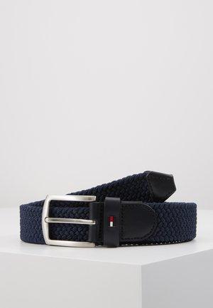 DENTON  - Braided belt - blue