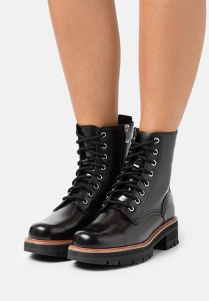 ORIANNA HI - Lace-up ankle boots - black