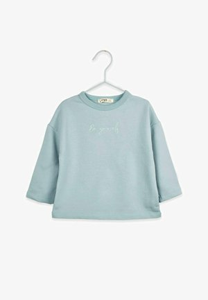 BE YOURSELF - Long sleeved top - turquoise