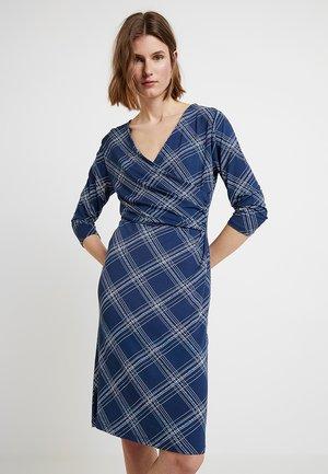 DOTTA DRESS - Korte jurk - dark denim