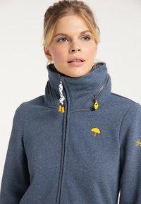 Schmuddelwedda - Zip-up hoodie - marine melange - 3