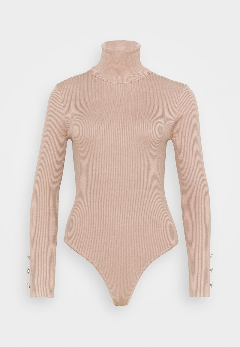 Missguided Petite - ROLL NECK  - Long sleeved top - camel