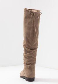 Tamaris - Kozačky nad kolena - beige - 5