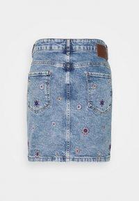 Desigual - LESLIE - Mini skirt - blue - 1