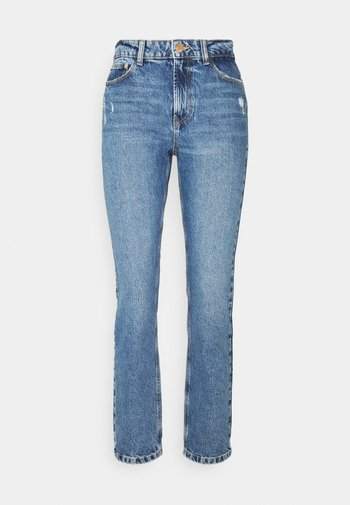 ONLEMILY LIFE - Straight leg jeans - medium blue denim
