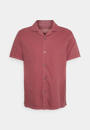 Skjorta - solid dusty burgundy