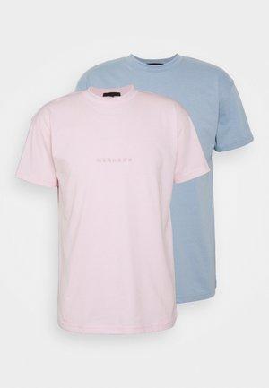 ESSENTIAL REGULAR UNISEX 2 PACK - T-shirt basique - multi