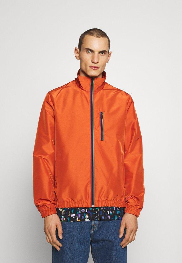 TRACK JACKET - Summer jacket - copper