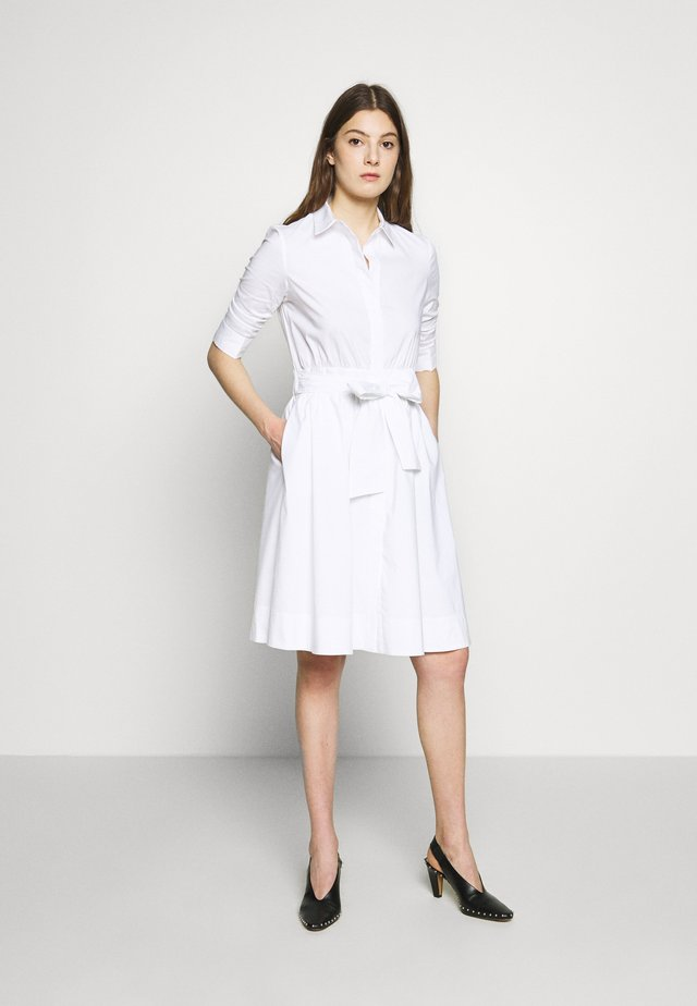 BRENDAS SUMMER DRESS - Shirt dress - white