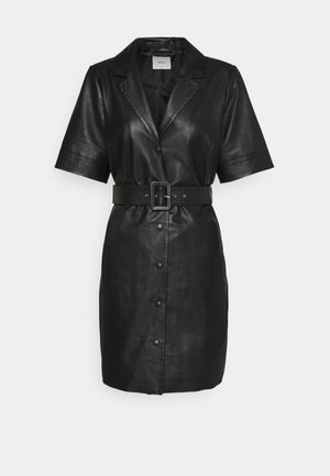 OBJZARIA DRESS  - Shirt dress - black