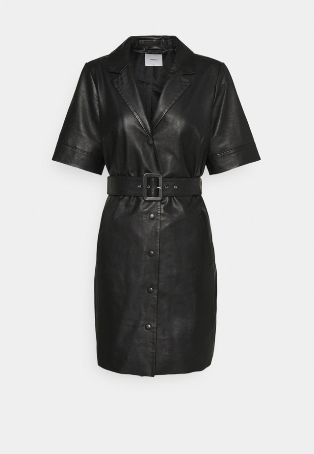 OBJZARIA DRESS  - Košilové šaty - black
