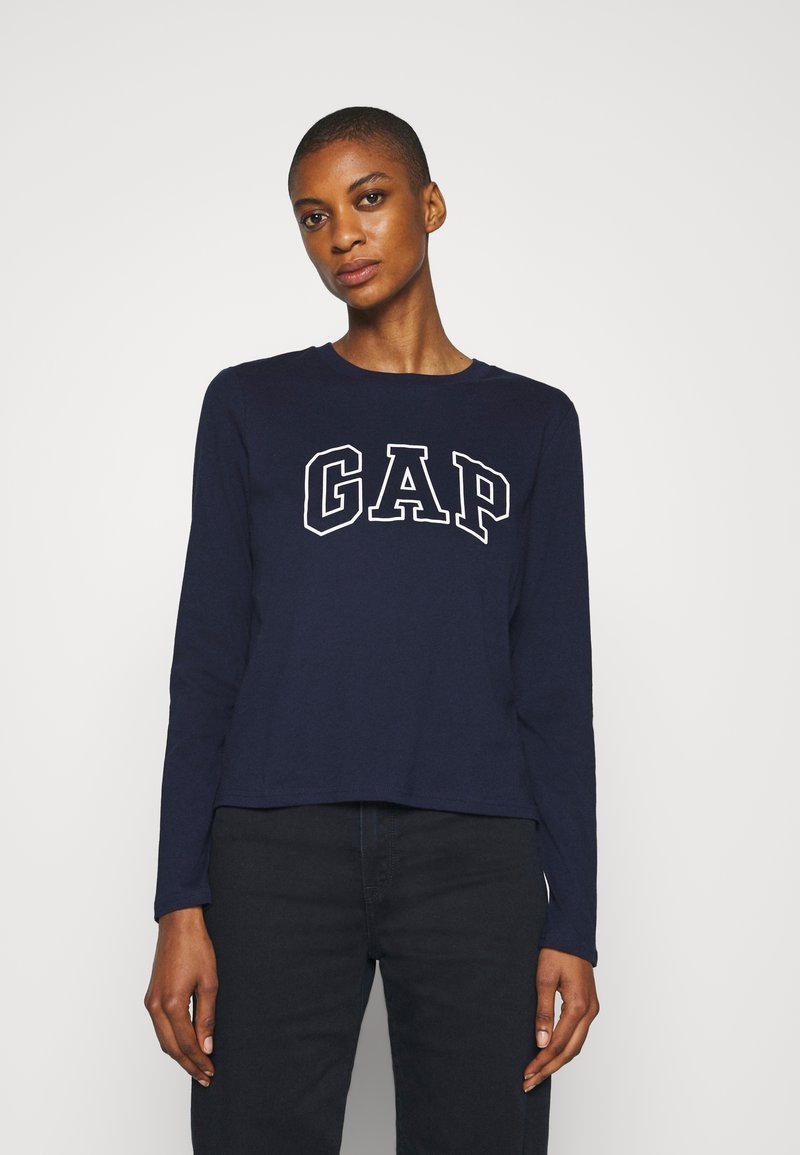 GAP - EASY TEE - Top s dlouhým rukávem - navy uniform
