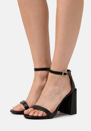 LORAINE - High heeled sandals - black