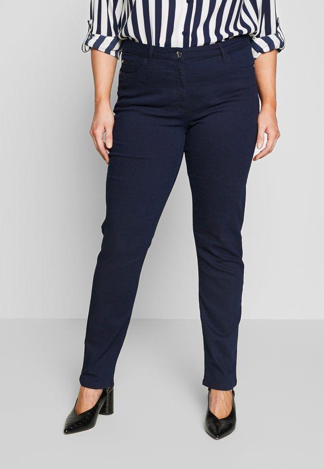 IAURES - Slim fit jeans - blu marino