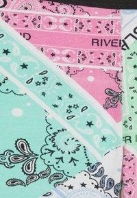 River Island - 2 PACK - Shorts - black - 3