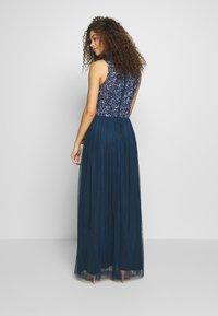 Lace & Beads Petite - PICASSO - Společenské šaty - navy - 2