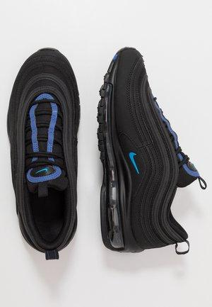 AIR MAX 97 - Sneakersy niskie - black/blue hero/hyper royal