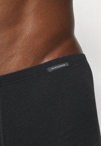 Schiesser - BOXERSHORTS 2 PACK - Pants - black - 4