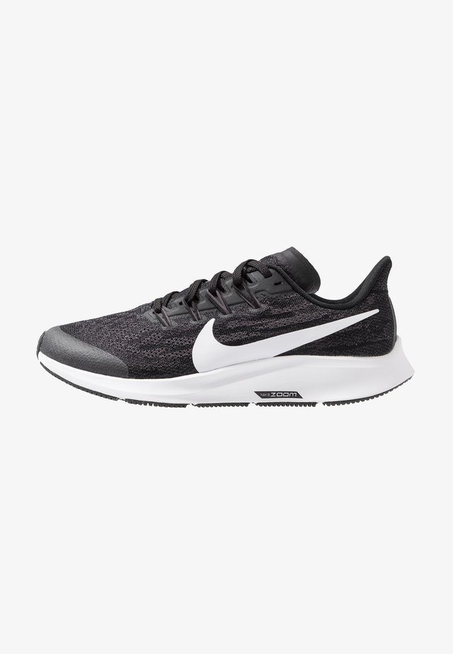 AIR ZOOM PEGASUS 36 UNISEX - Neutral running shoes - black/white/thunder grey