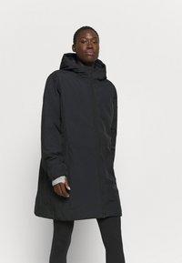 CMP - FIX HOOD - Płaszcz zimowy - nero - 0