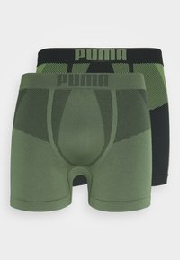 Puma - SEAMLESS ACTIVE 2 PACK - Panties - army green - 3