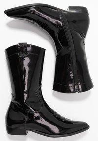 E8 BY MIISTA - MILA - Cowboy/Biker boots - black - 3