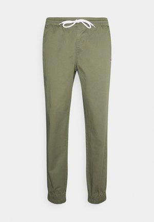 ELASTIC CUFF PANTS - Pantalon de survêtement - olive