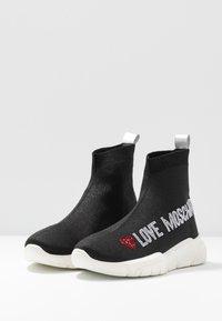 Love Moschino - Vysoké tenisky - nero - 4