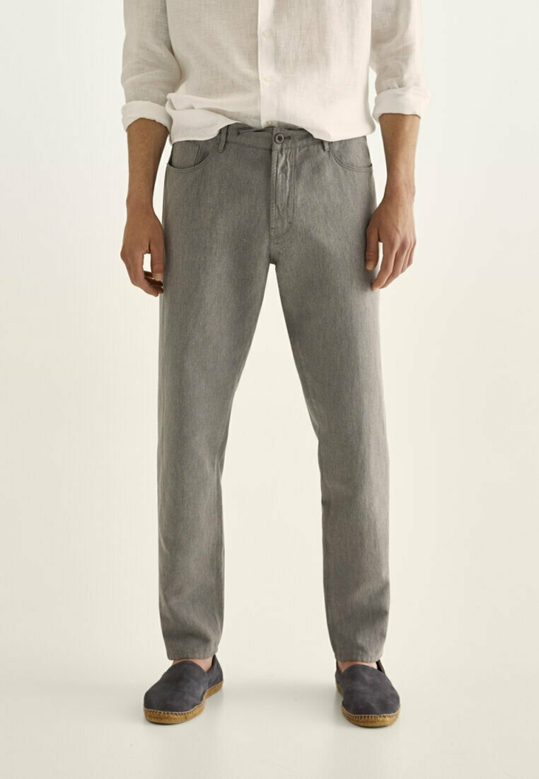 Massimo Dutti - IM VINTAGELOOK  - Trousers - grey
