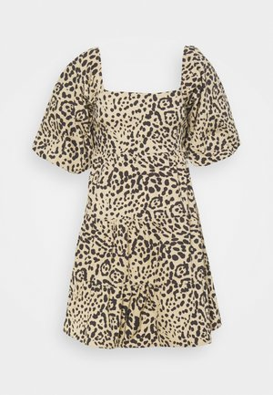 ERYN MINI DRESS - Day dress - beige