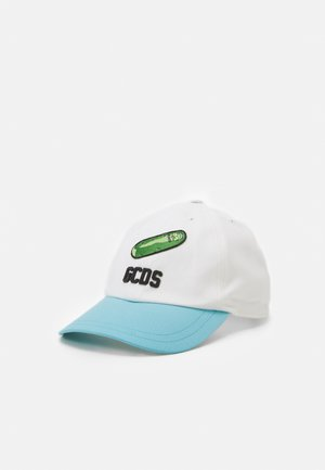 RICK MORTY CUCUMBER UNISEX - Cap - white/blue