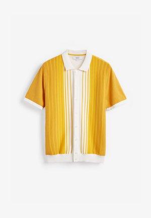 Vapaa-ajan kauluspaita - mustard yellow