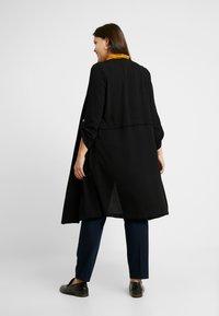 Evans - LONGLINE JACKET - Krátký kabát - black - 2