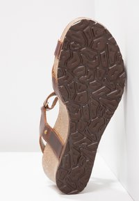 Panama Jack - JULIA CLAY - Sandalias con plataforma - dark brown - 6