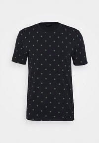Scotch & Soda - CLASSIC CREWNECK TEE - Print T-shirt - dark blue - 5