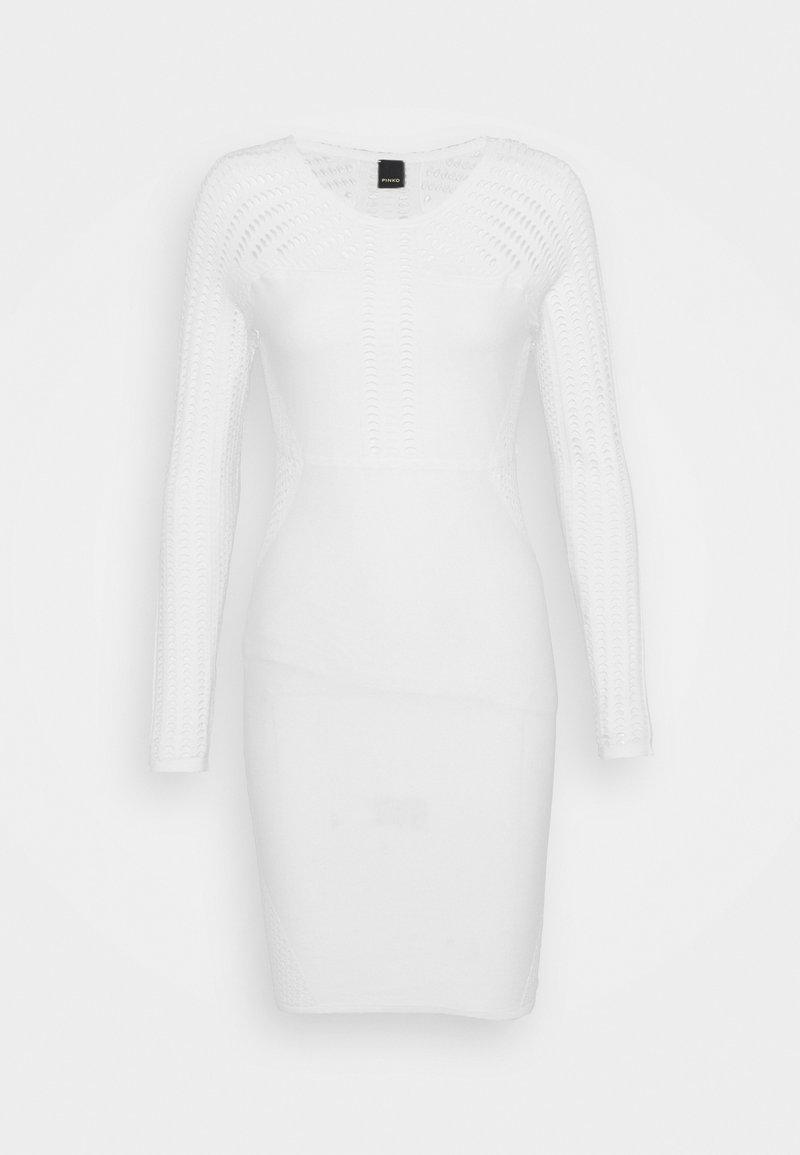 Pinko - CAMPIONATO ABITO STRETCH PUNTO RETE - Jumper dress - off-white