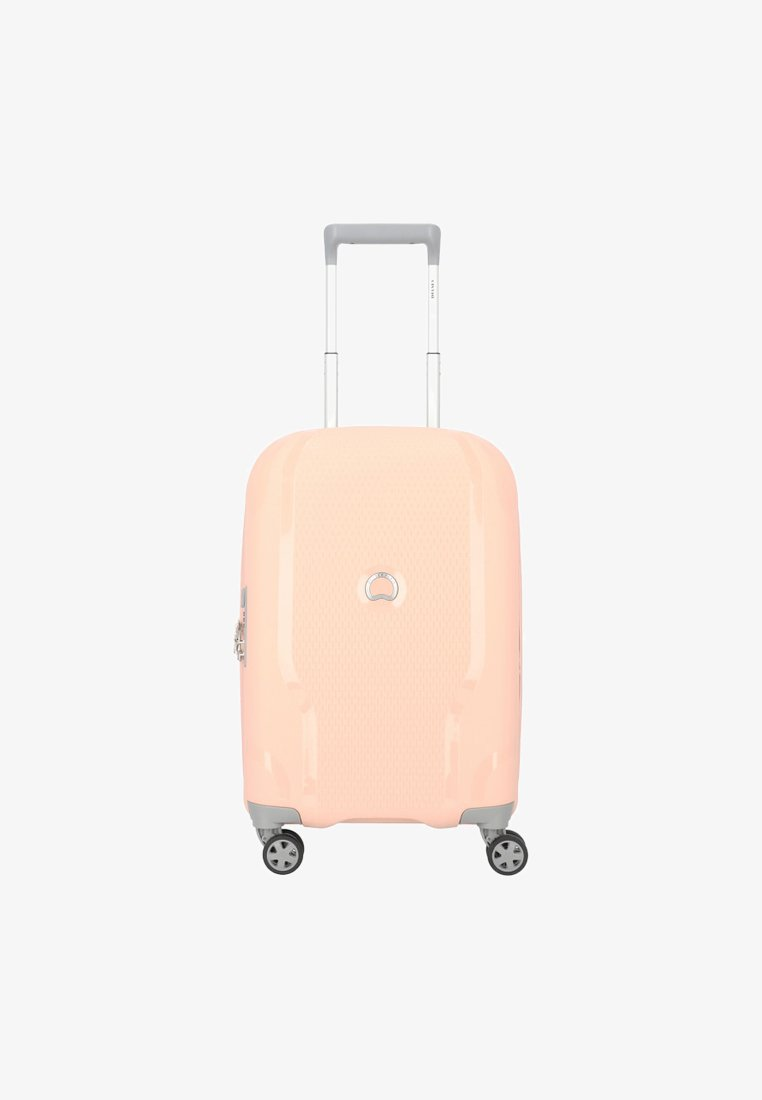 Delsey - CLAVEL - Wheeled suitcase - light pink