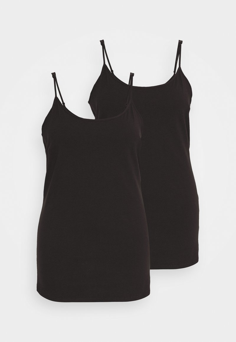 Anna Field Curvy - 2 PACK - Topper - black
