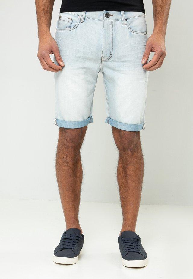 SHAWN - Shorts di jeans - blau