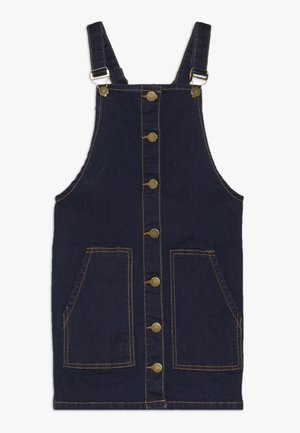 ORVELLE SPENCER DRESS - Farkkumekko - dark blue denim