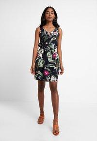 Vero Moda - VMSIMPLY EASY SHORT DRESS - Day dress - night sky/tropicana - 2