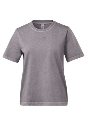 CLASSICS WASHED T-SHIRT - Basic T-shirt - grey
