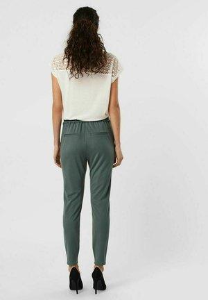 Trousers - balsam green