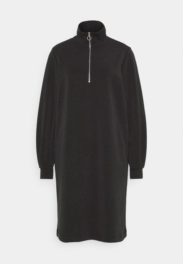 SLFTENNY ZIP DRESS - Kjole - black