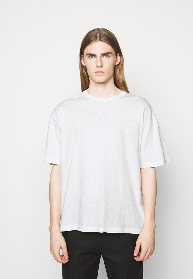 TRIPLE - T-Shirt basic - ecru