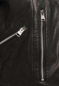 Vero Moda - VMALICIA  - Giacca di pelle - black - 6